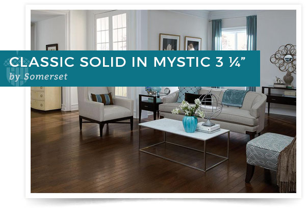 "Classic Solid in Mystic 3 ¼"" by Somerset"