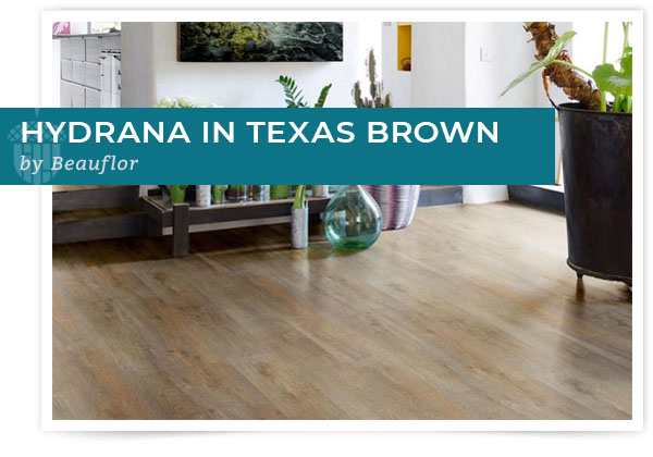 Hydrana in Texas Brown by Beauflor