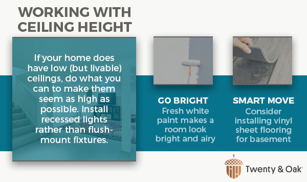 working with ceiling height graphic
