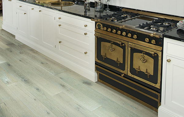 Raintree flooring in kitchen