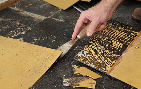 How To Remove Vinyl Flooring Twenty Oak, Removing Vinyl Flooring