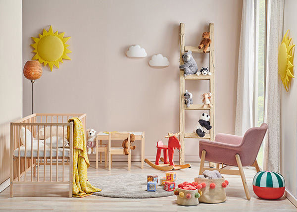 modern decorative baby room