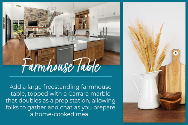 farmhouse table graphic