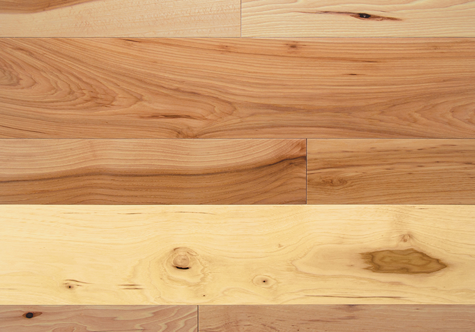 Somerset, Character Solid, Natural Hickory 3 1/4""