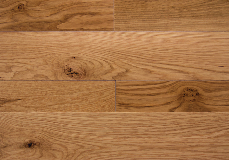 Somerset, Character Solid, Natural White Oak 5""