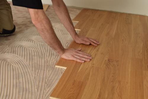Installing Engineered Hardwood On