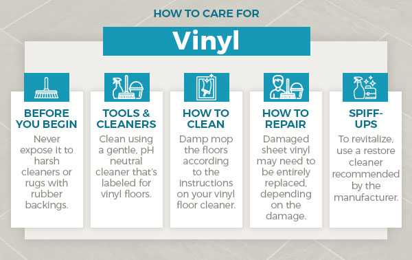 how to care for vinyl graphic